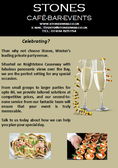 Celebrate your Event at our Venue in Weston