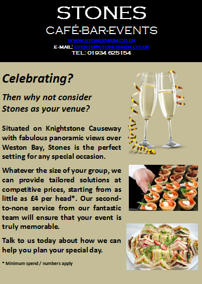 Events Venue in Weston-super-Mare