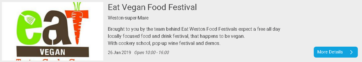 Eat Vegan Food Festival Weston