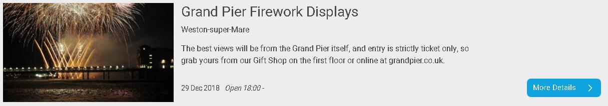 Grand Pier Fireworks