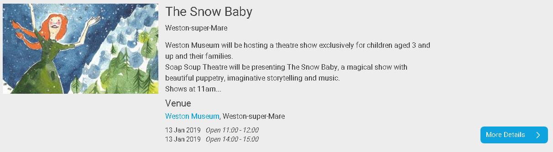Snow Baby Weston