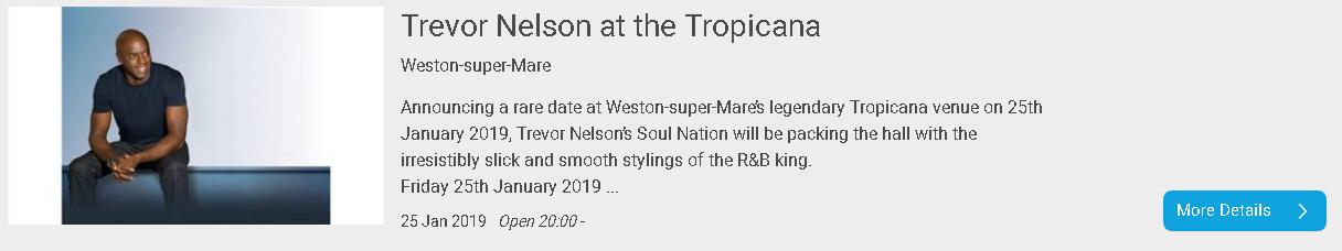 Trevor Nelson at Tropicana