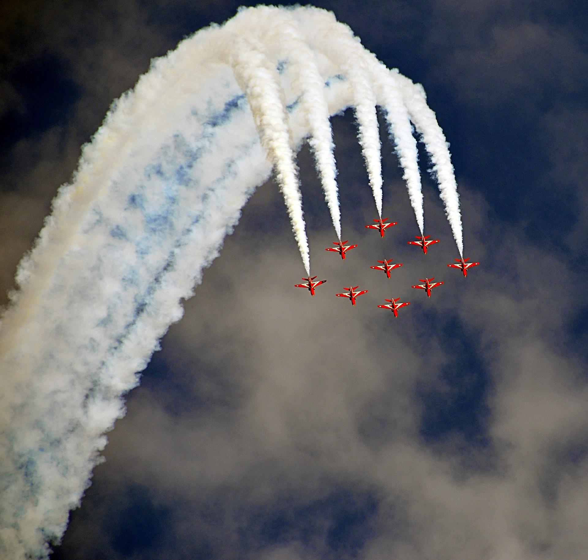 weston airshow red arrows