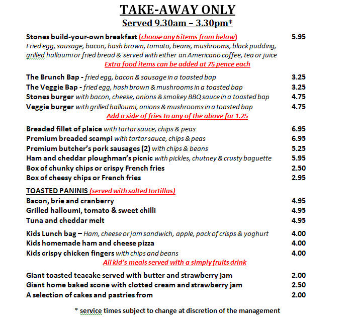 Local Takeaway Weston Cafe