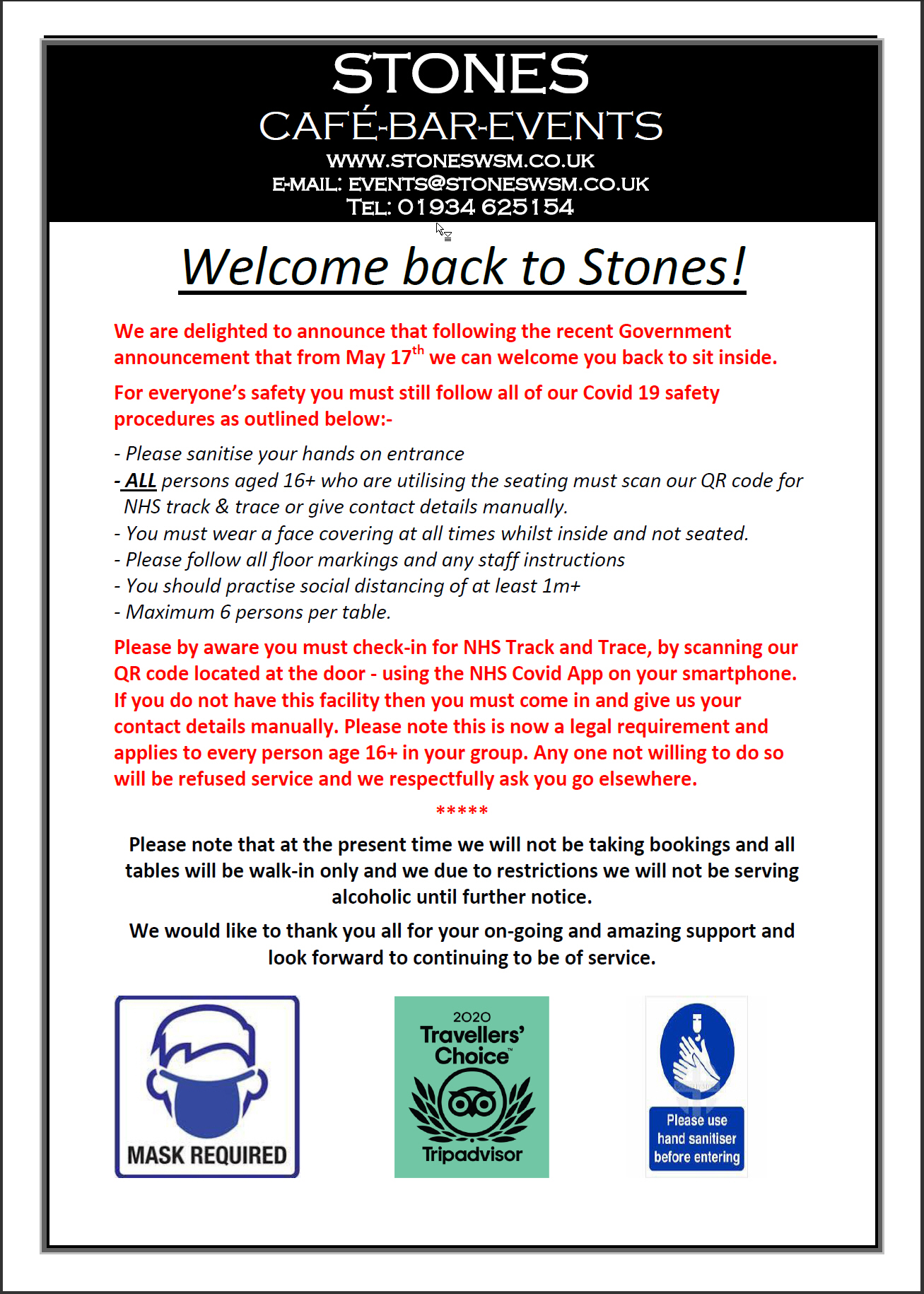 Welcome Back to Stones