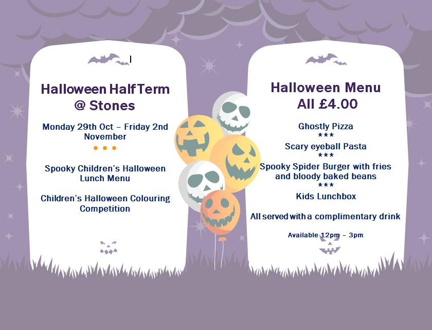 Half Term Halloween at Stones