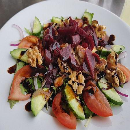 Vegetarian Vegan Dishes Food in Weston super Mare Somerset