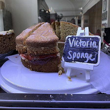 Tea Rooms Victoria Sponge Cake